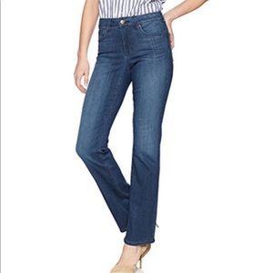 NYDJ Straight Leg Blue Ankle Jeans 14